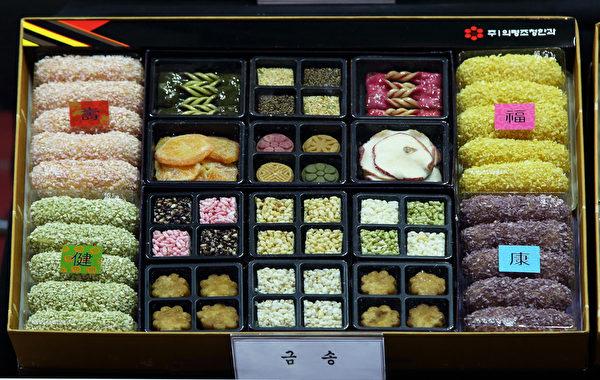 佳节将至,为期四天的迎中秋食品展于14日在韩国首尔国际会议暨展示中心(COEX)举行。(图:全宇/大纪元)