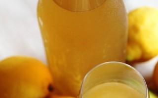 【舞动味蕾】手酿意大利柠檬香甜酒limocello