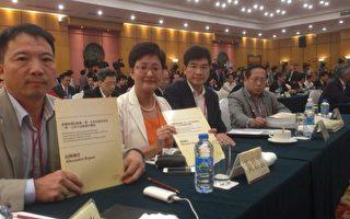 香港民主派立法會議員8月21日到深圳會見北京官員討論政改,雙方分歧嚴重。(單仲偕提供圖片)