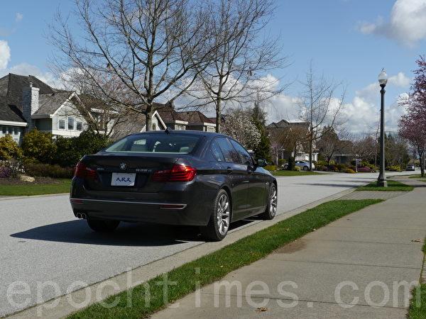2014 BMW 535d。(摄影:夏又容/大纪元)