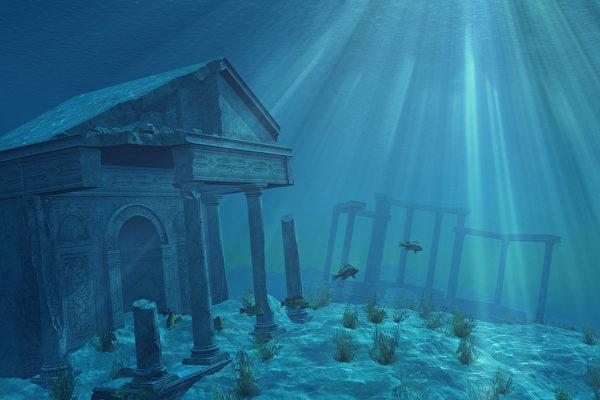 亚特兰蒂斯是一个传说中高度文明的国度,有着华丽的宫殿和神庙、祭祀用的巨大神坛、数不清的财富。(fotolia)