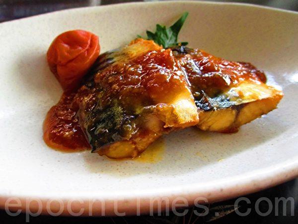 甜酸味噌鲭鱼(摄影:家和/大纪元)