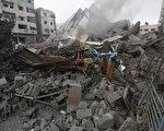 巴勒斯坦官員指控以色列26日破曉前對加薩空襲,造成2名巴勒斯坦人身亡與20人受傷。(MOHAMMED ABED/AFP)