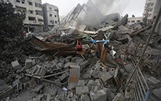 巴勒斯坦官员指控以色列26日破晓前对加萨空袭,造成2名巴勒斯坦人身亡与20人受伤。(MOHAMMED ABED/AFP)
