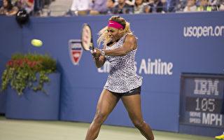 组图:美国网球公开赛精彩瞬间