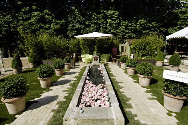 杜乐丽花园(STEPHANE DE SAKUTIN/AFP)
