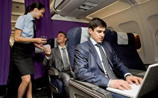 美国交通部就乘客是否能够在飞行途中使用Wi-Fi打电话征询公众意见,没想到大多数人都持强烈反对意见。(Fotolia)