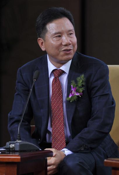 南京金螳螂集團總裁朱興良(大紀元檔案照片)