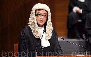 香港大律师公会主席石永泰。(潘在殊/大纪元)