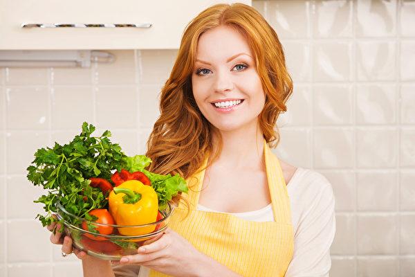 多吃蔬果对修复和维持健康的肠细胞系统非常重要(fotolia)