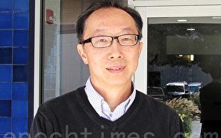 北加州香港会发言人张志强,9月2日接受了记者采访。(周凤临/大纪元)