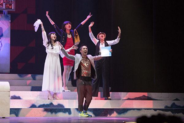《天天想你》音乐剧有台湾优秀歌舞剧新星齐聚演出。(广艺基金会提供)