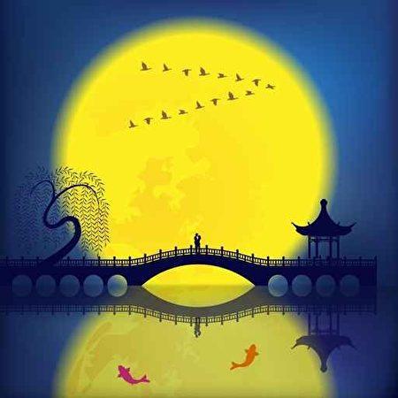 中秋节月圆人团圆,吟风颂月古今同心。(Fotolia)