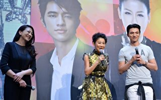 蓝心湄、吴依霖、小凯前往马来西亚宣传。(TVBS提供)