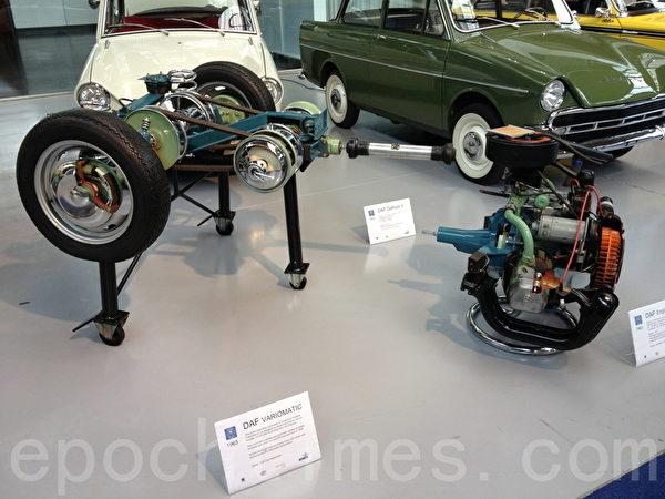 这次车展可以让DAF的车迷大饱眼福,所有产品全都来自私人收藏。(萧然/大纪元)