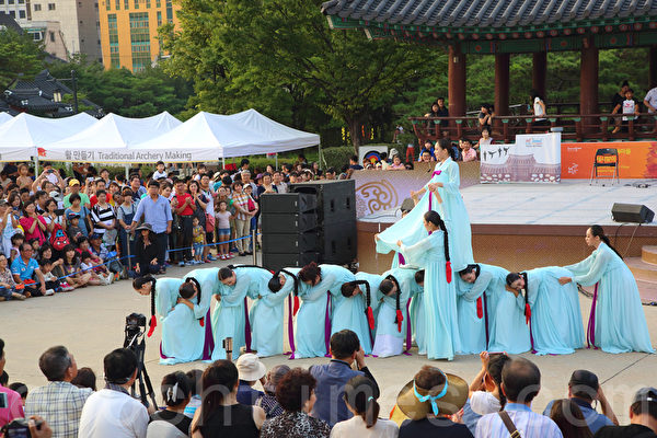 組圖:韓國中秋節的民俗遊戲