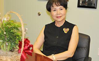宾州亚裔老人服务中心PASSi创办人崔英佳女士。(肖捷/大纪元)