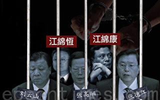 江泽民利益集团台面上的三政治局常委危矣