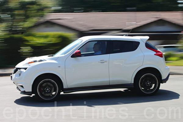2014 Nissan Juke Nismo RS。(摄影:李奥/大纪元)