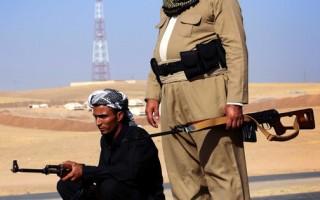 庫爾德士兵(AFP/SAFIN HAMED)