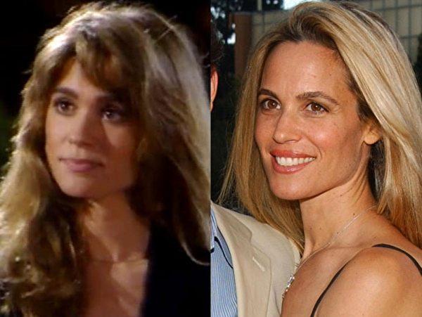 """《成长的烦恼》中""""捣蛋迈克""""的女友切茜亚·诺宝(Chelsea Noble)如今是迈克的妻子。(大纪元合成图)"""