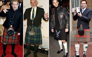 苏格兰国际巨星,左起:比利·博伊德,肖恩·康纳利,杰拉德·巴特勒,伊万·麦克格雷格。(Getty Images/大纪元合成)