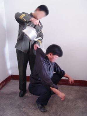 中共酷刑:浇开水(明慧网)