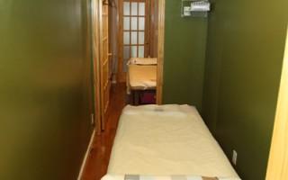 舒適推拿室(攝影:張學慧/大紀元)