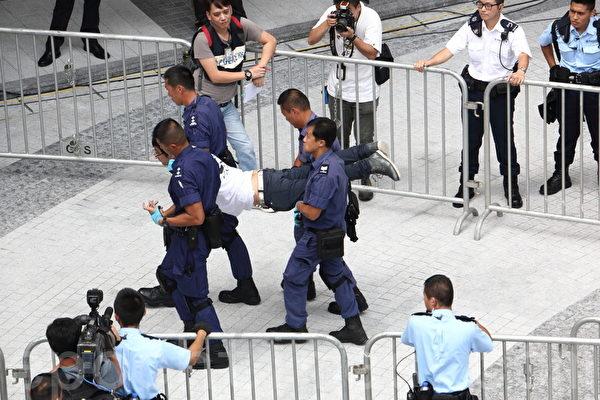 港警過分動武 大赦國際籲立即釋放抗議者