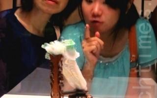 组图:台故宫超人气翠玉白菜三颗首度亮相