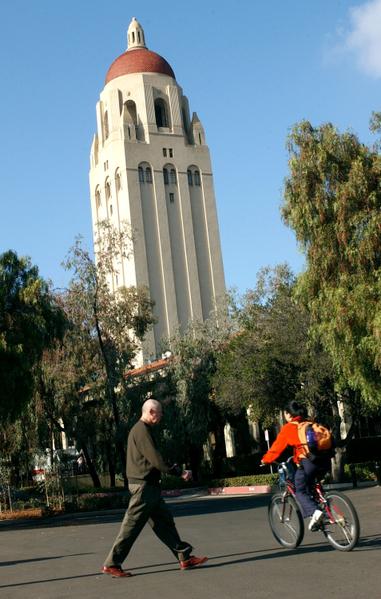 斯坦福大学(Stanford University)MBA毕业生20年薪酬为全美大学MBA毕业生排名第2。 (Justin Sullivan/Getty Images)
