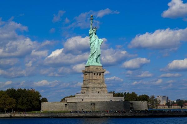 自由女神像(Statue  of Liberty)(戴兵/大紀元)