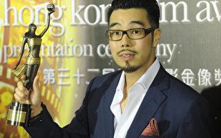 周顯揚2013年獲香港電影金像獎最佳新導演奬資料照。(ANTONY DICKSON/AFP/Getty Images)