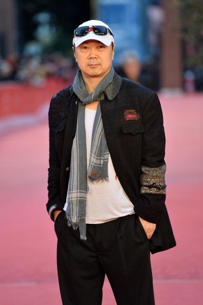 2013年11月13日,崔健携其导演的《蓝色骨头》亮相罗马国际电影节。(Tullio M. Puglia/Getty Images)