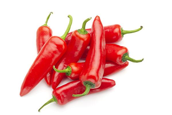 红辣椒。(fotolia)