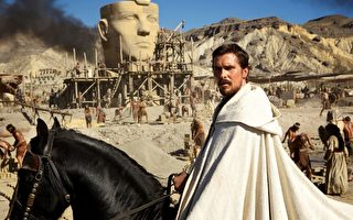 克里斯蒂安•贝尔饰摩西的《出埃及记:天地王者》,将于12月与观众见面。(福斯提供)