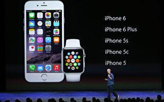 市調機構透過移動數據流量追蹤發現,iOS裝置中市占率排名第一的是iPhone 6。(Photo by Justin Sullivan/Getty Images)