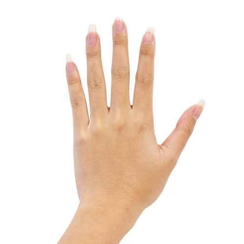 对于女性来说,则一般是食指和无名指指一样长。(fotolia)