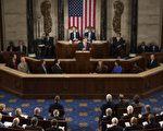 普京入兵克里米亞,引來國際制裁。圖為烏克蘭總統9月18日在美國國會發表講話,譴責普京的軍事野心。(SAUL LOEB/AFP/Getty Images)