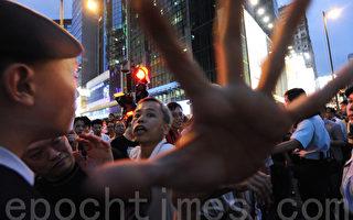 中共黑幫襲擊旺角 戴耀廷籲抗議者撤離