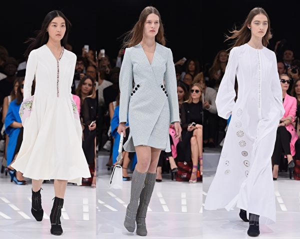 巴黎2015春夏时装周,Christian Dior秀。(Getty Images/大纪元合成)