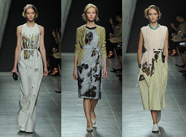 米兰2015春夏时装周,Bottega Veneta秀。(Getty Images/大纪元合成)
