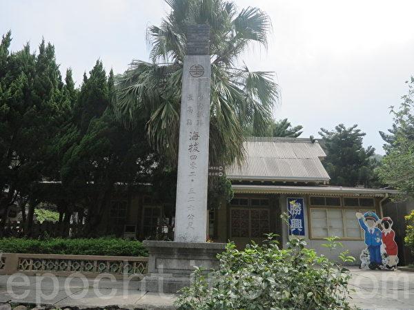 胜兴火车站高达海拔402.32公尺。(赖瑞/大纪元)