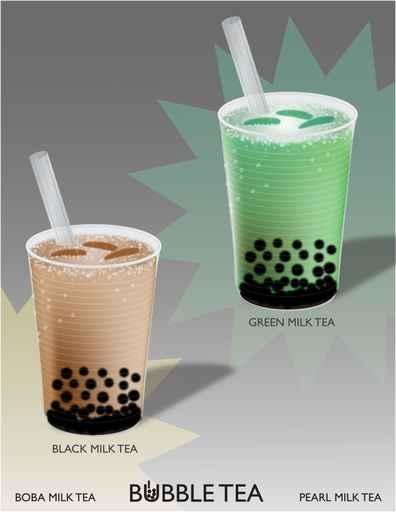 珍珠奶茶多用植脂末、香精、色素和糖兑制。(fotolia)