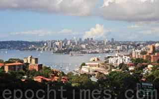 9月份澳洲房價幾乎持平,但悉尼的房價仍在持續上漲。該月全澳房產價值指數上漲了0.1%,但每一省會城市的結果均不同。(簡玬/大紀元)