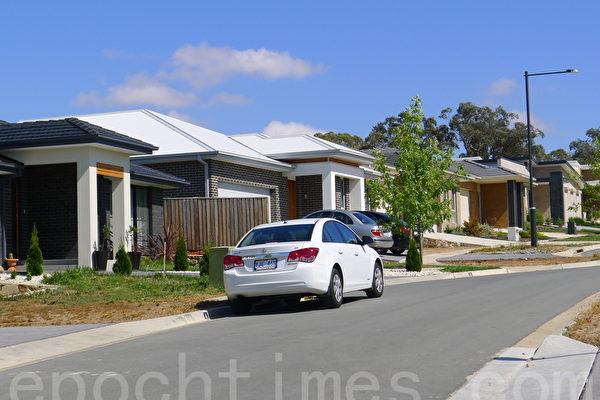 在澳洲,有近四分之一的家庭处于还贷压力之中,没有足够的收入来偿还房贷及支付其它生活费用。(简沐/大纪元)