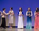 """第六届""""全世界中国古典舞大赛""""于10月12日在纽约曼哈顿翠柏卡表演艺术中心(Tribeca Performing Arts Center)落下帷幕。郑道咏荣获第六届中国古典舞大赛青年女子组金奖。(戴兵/大纪元)"""