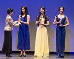 """第六届""""全世界中国古典舞大赛""""青年女子组银奖。(戴兵/大纪元)"""