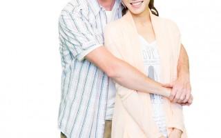 夏克立与杨千霈演出《把我娶回家》。(纬来电影台提供)