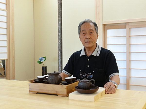鈴木健康綠營造股份有限公司會長鈴木正弘。(楊容甄/大紀元)